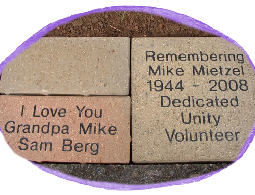 Unity Memorial/Honorarium Bricks and Tribute Gardens