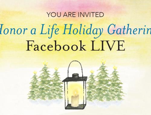 Unity's 2020 Honor A Life Gathering Facebook Live Event and Ornament